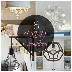 8 DIY Chandeliers