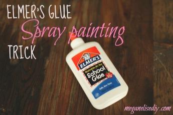 Elmers-Glue Trick