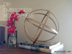 Embrodiery Hoop Sphere