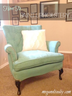 Painted Arm Chair